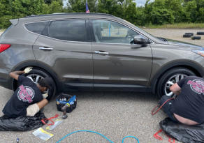 On-Site Wheel Repair with The Wheel Guys